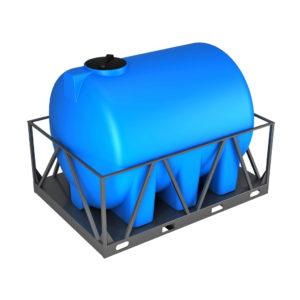 Емкость Экопром H 5000л в обрешетке