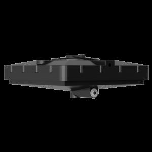 Бак для душа Aкватек 240 л (черный) с подогревом 1100Х1100х380