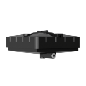 Бак для душа Aкватек 240 л (черный) с подогревом 950Х950х440