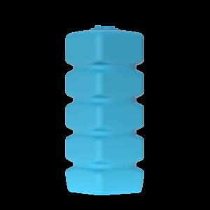 Бак д/воды Aкватек Quadro W-1000 (синий) с поплавком