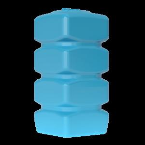 Бак д/воды Aкватек Quadro W-750 (синий) с поплавком