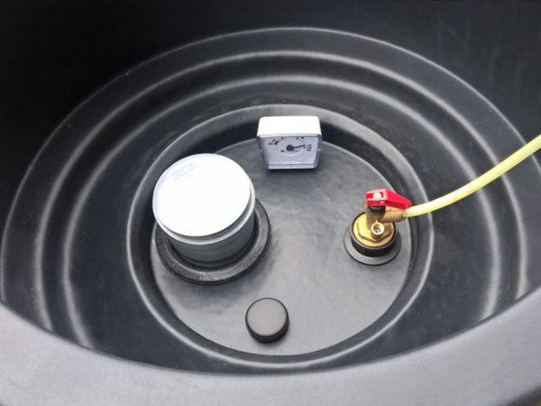 Подземная емкость DТ 2000 литров Полимер