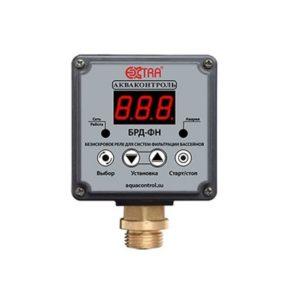Безыскровое реле для систем фильтрации бассейнов БРД-3ФН-2,5 G1/2″