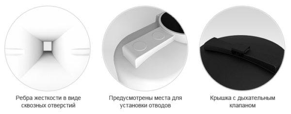 Емкость S 1500л oil Экопром