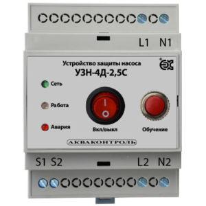 Устройства защиты насоса с плавным пуском IP20 на DIN рейку
