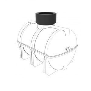 Удлиняющая горловина 310 мм для подземных емкостей Полимер