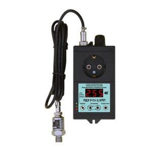РДЭ У-Ст-2,5ПП (2,5 кВт) Реле давления с плавным пуском и с выносным датчиком давления 4-20мА