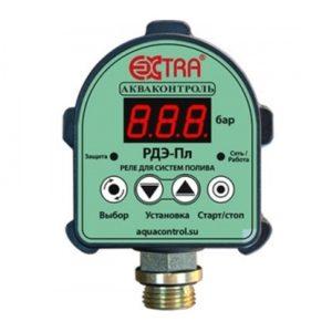 Реле давления электронное для систем полива РДЭ-10Пл-1,5 (P1max=1,5кВт)